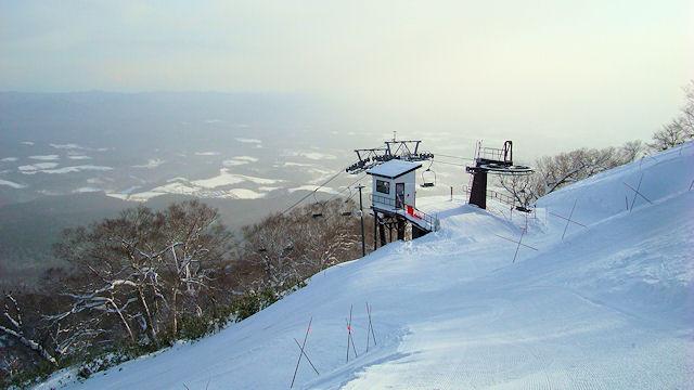 高原 天気 スキー 中山 奥 場
